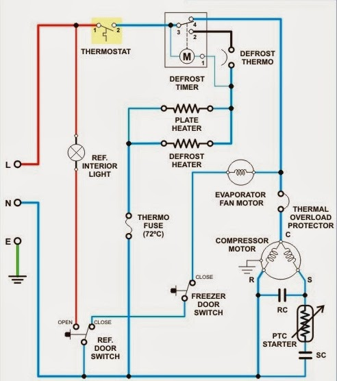 Wiring Diagram Kulkas Mitsubishi | Wiring Diagram