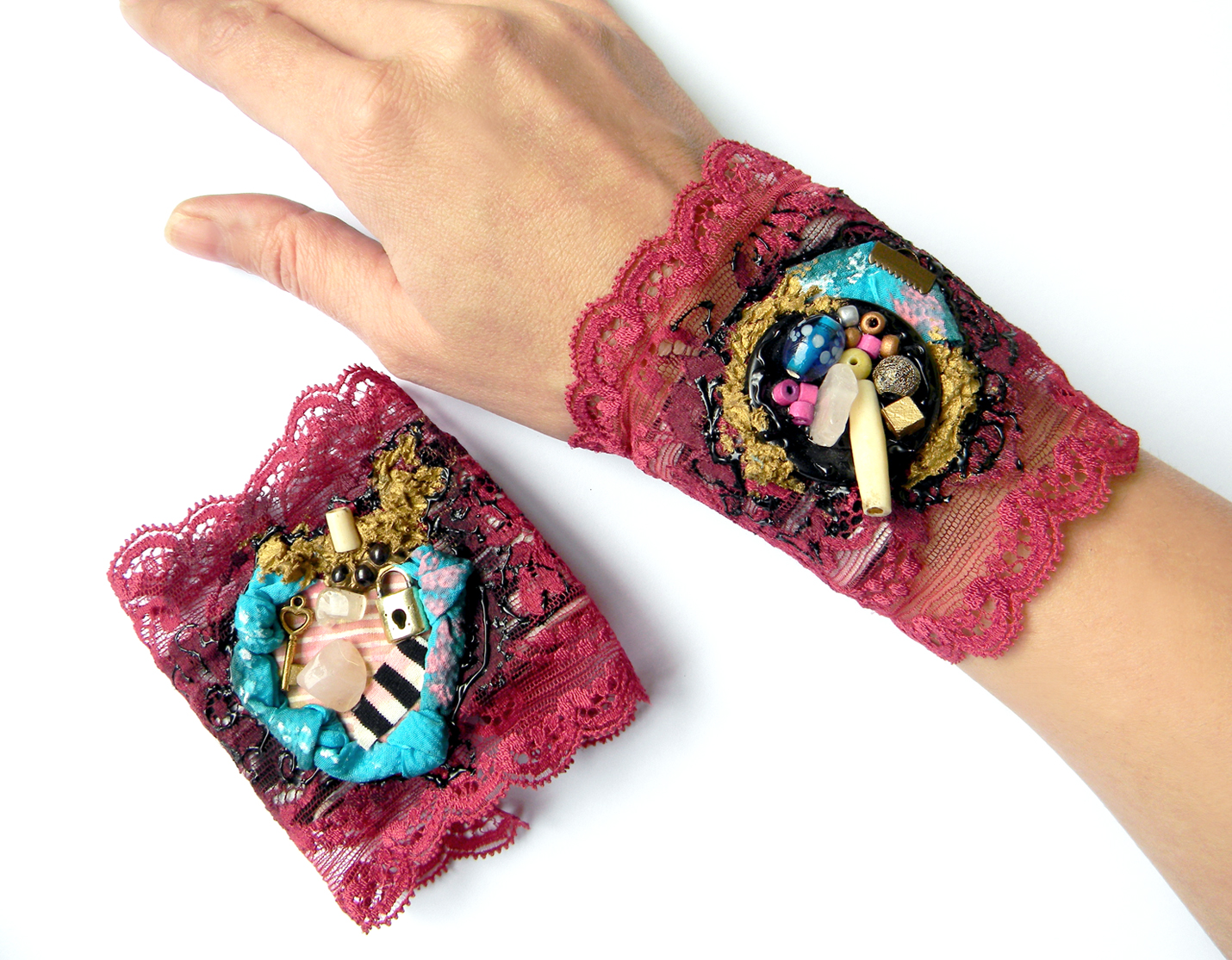 Unique Handcrafted Accessories Handmade Fashion Cuffs Unique Jewelry
