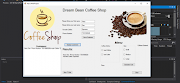 Coffee Shop System in C# with source code | Complete Project with database