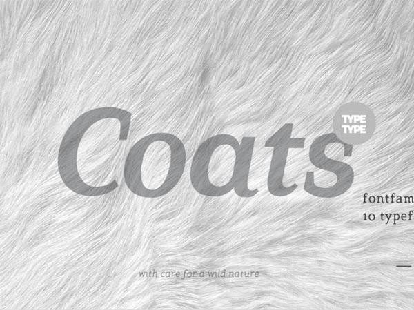 Download TT Coats Font Free