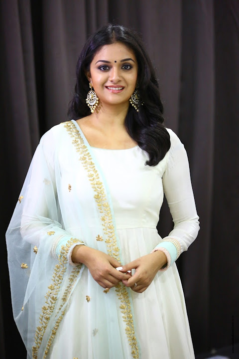 Keerthi Suresh Promotion Stills in TSK