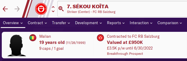 FM20 Wonderkid Analysis - Sekou Koita