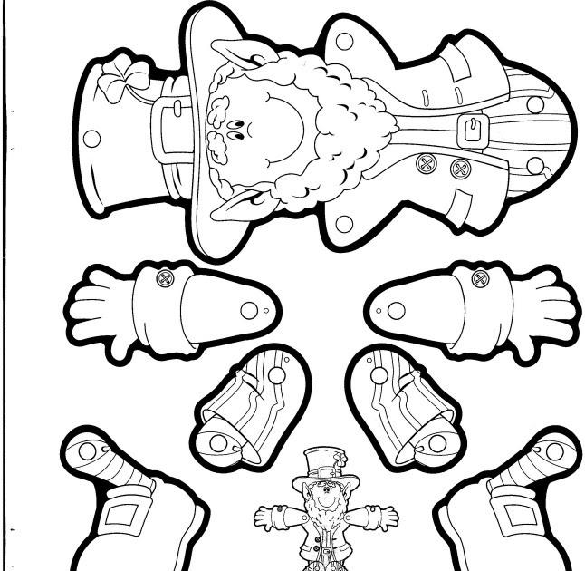 Preschool Crafts for Kids*: St. Patrick's Day Printable