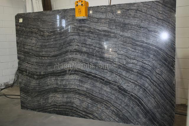 Kenya Black marble slabs for countertops
