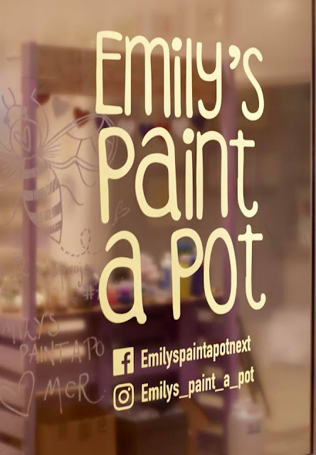 Emily's Paint a Pot in Next, Manchester Arndale