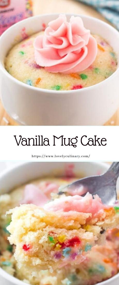 Vanilla Mug Cake #recipe #desserts