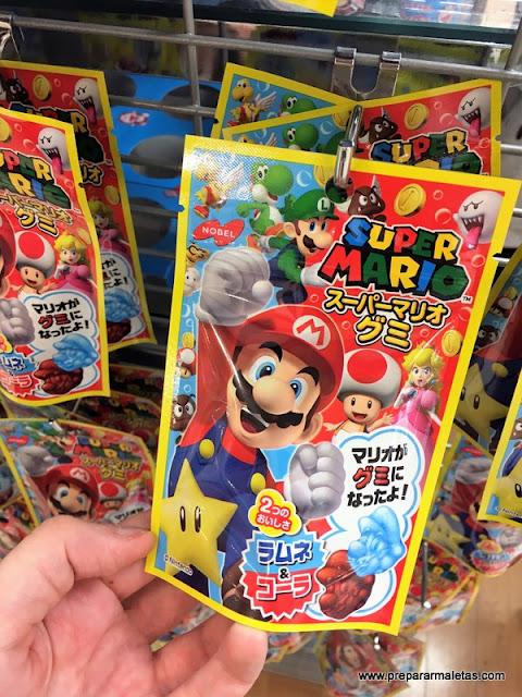 Gominolas Super Mario en Daiso