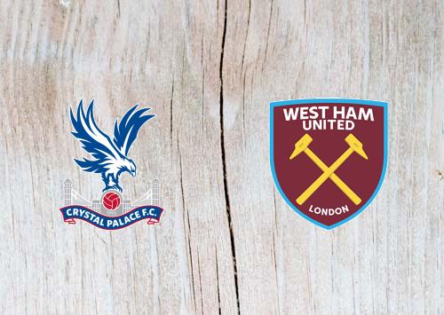 Crystal Palace vs West Ham - Highlights 9 February 2019