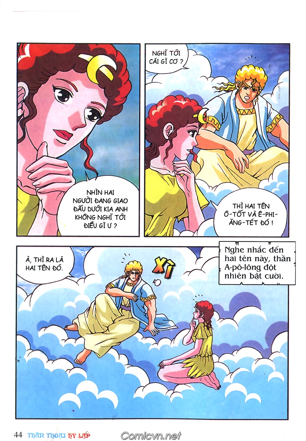 Thần Thoại Hy Lạp Màu - Chapter 57: Cuộc chiến định mệnh - Pic 41