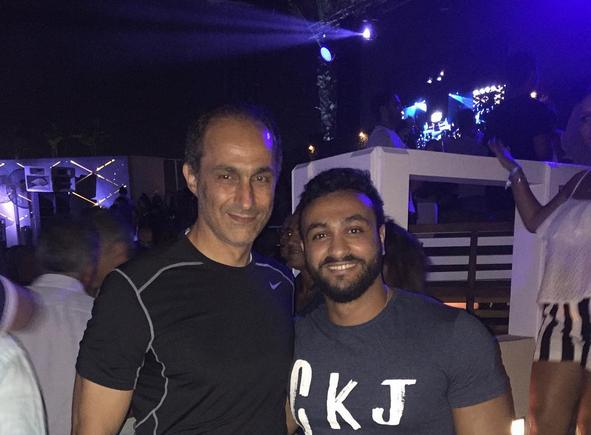 جمال مبارك يظهر في حفل بالساحل الشمالي.. صور