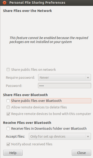 Solving Ubuntu 12 04 LTS - Android unable to send file over