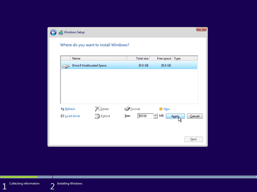 12 - Cara Install Windows 10