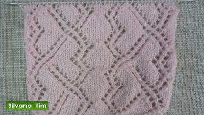 tejido con dos agujas tutorial