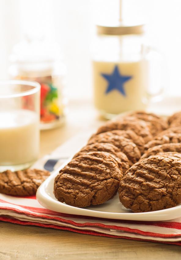 Galletas fáciles de nutella #sinlactosa | la Rosa dulce