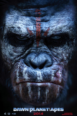 Poster oficial Dawn Of The Planet Of The Apes