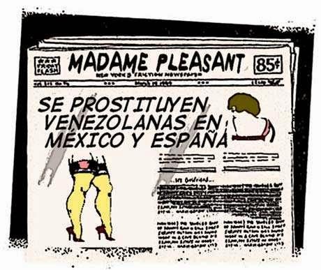 front page cómic - venezolanas México y España