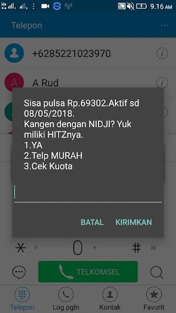 Bukti Pembayaran Pulsa Gratis Terbaru dari Pang Android