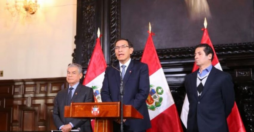 [TEXTO COMPLETO] Pronunciamiento del presidente Martín Vizcarra sobre negociados entre miembros del CNM y el Poder Judicial