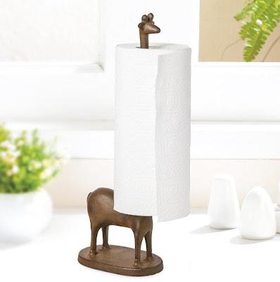 Giraffe Kitchen Paper Holder