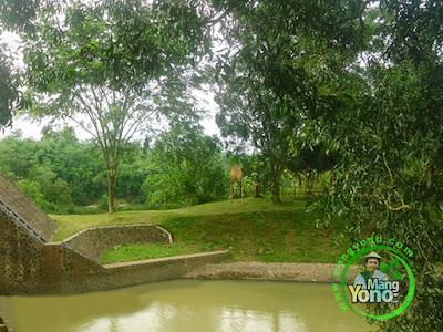 Ini saluran sungai ke Binong