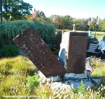 Eagle Rock Reservation Park in West Orange, New Jersey - September 11th Memorial