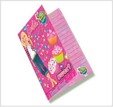 Jollibee party package - Barbie Theme guest book
