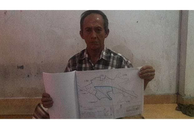 Kades Pulau Gemantung Diduga Jual 62 Hektare Lahan Cetak Sawah