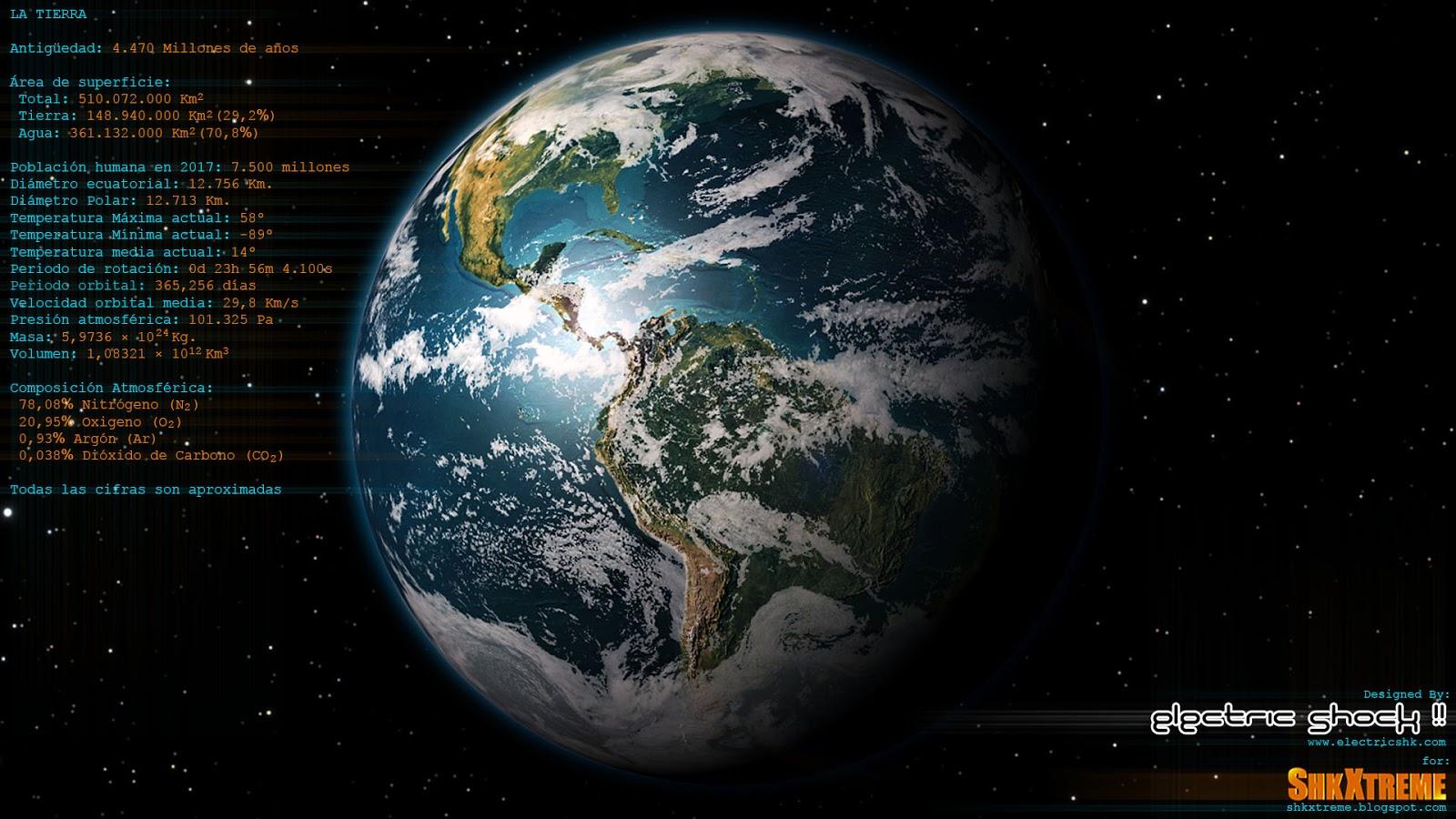 Datos de La Tierra Vista 1