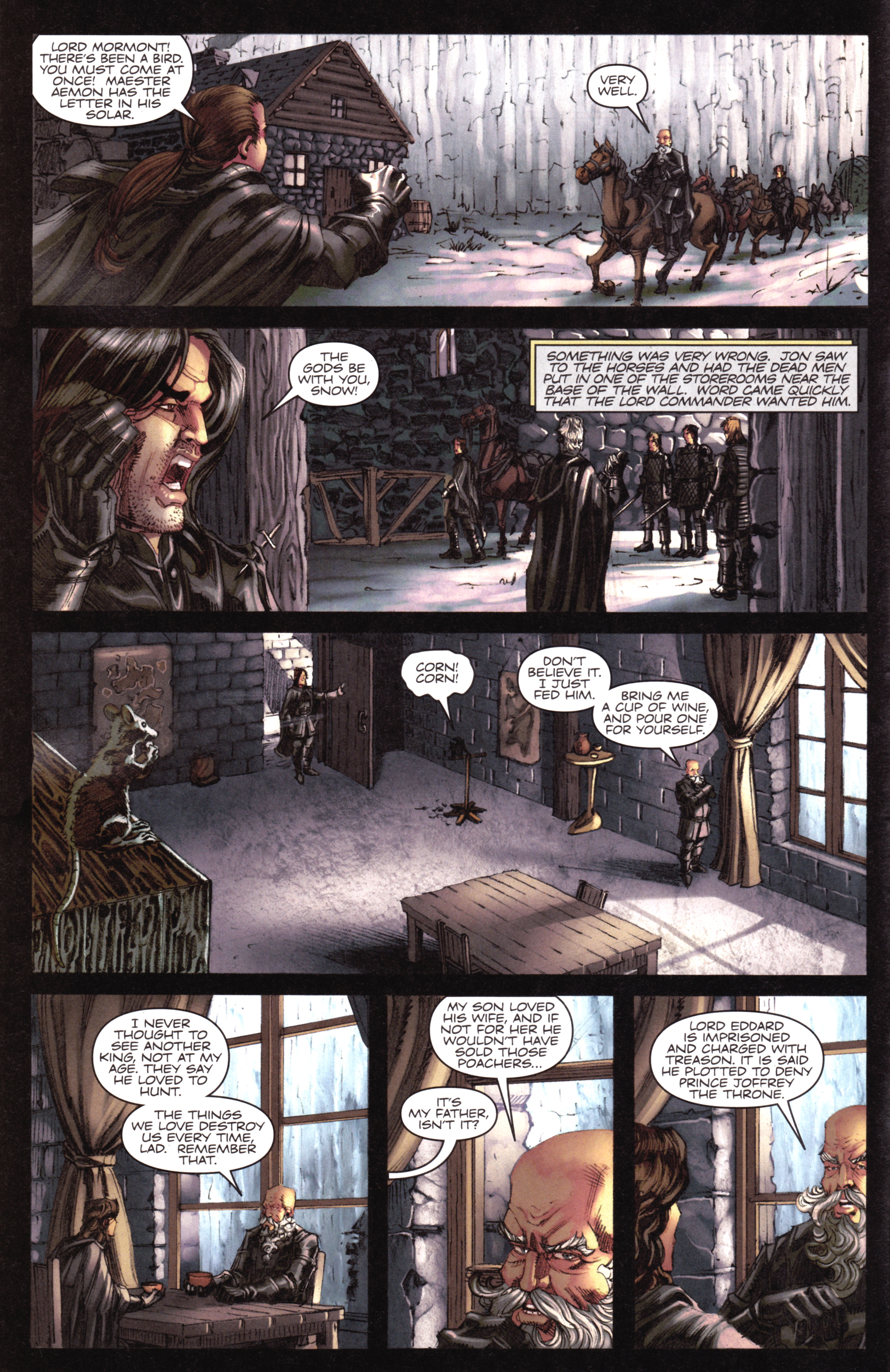 Read online A Game Of Thrones comic -  Issue #17 - 8