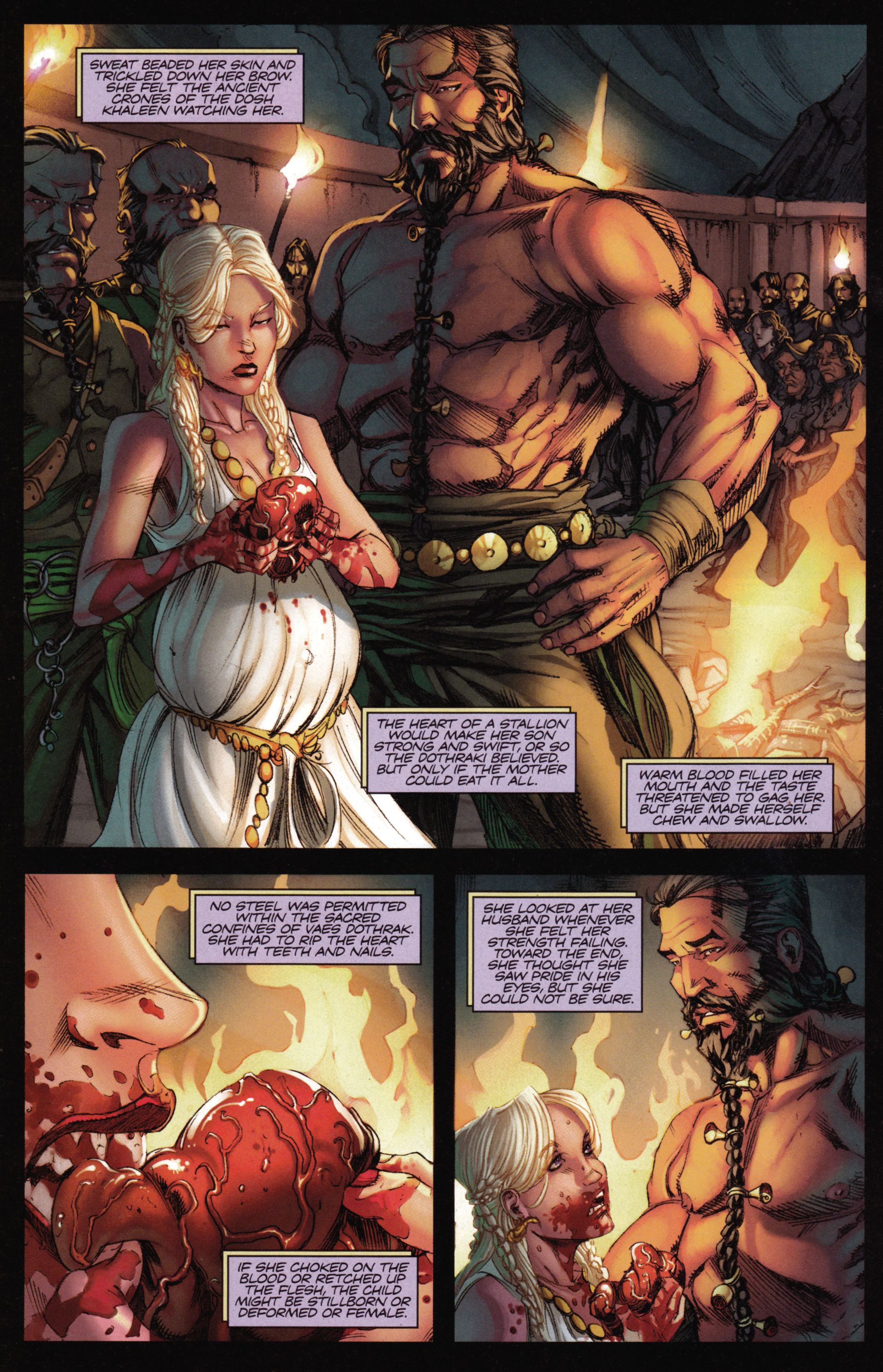 Read online A Game Of Thrones comic -  Issue #15 - 22