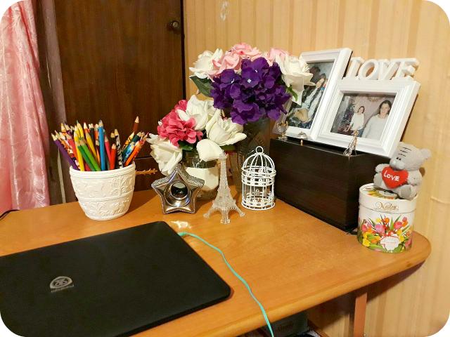 мой рабочий стол, творческий уголок, мое рабочее место, уют, моя комната, как оформить рабочее место