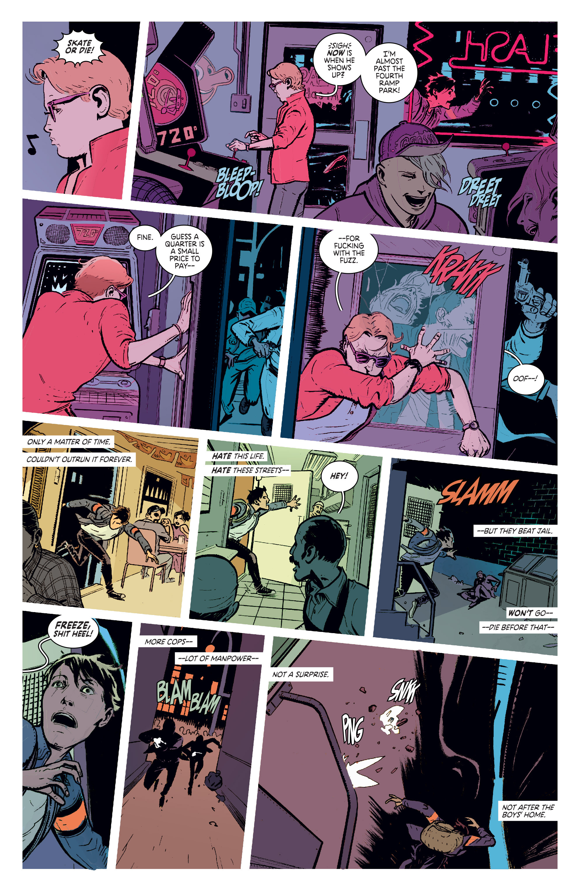 Read online Deadly Class comic -  Issue #1 - 14