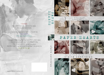 Cover Reveal: Paper Hearts by Claire Contreras