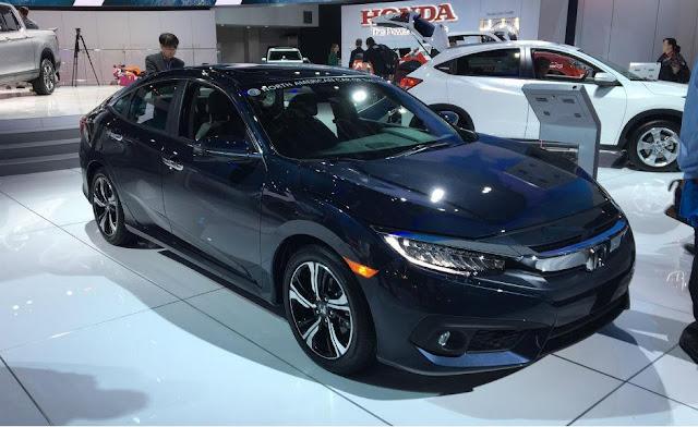 Novo Honda Civic 2017: versão brasileira