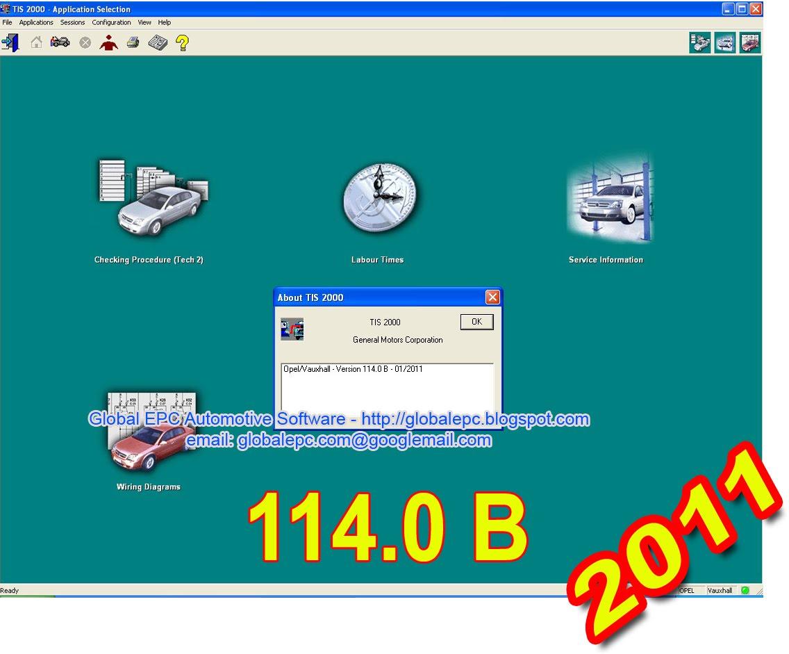 Opel Tis Wiring Diagrams 2011 Schematics Global Epc Automotive Software Vauxhall Holden Tis2000 Rh Globalepc Blogspot Com Light Switch Diagram