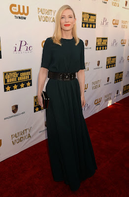 Cate Blanchett Critics Choice Movie Awards 2014