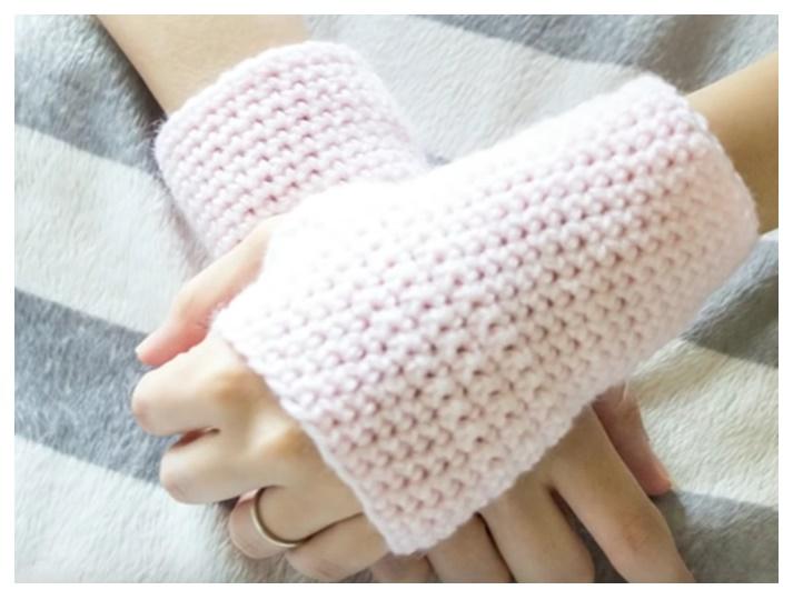 Ideas para el hogar: Cómo tejer mitones paso a paso crochet