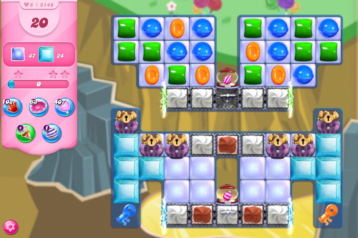 Candy Crush Saga level 5148