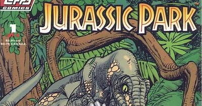 Dave's Comic Heroes Blog: A World of Topps' Jurassic Park Comics