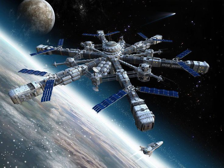 prison sci fi space station - photo #34