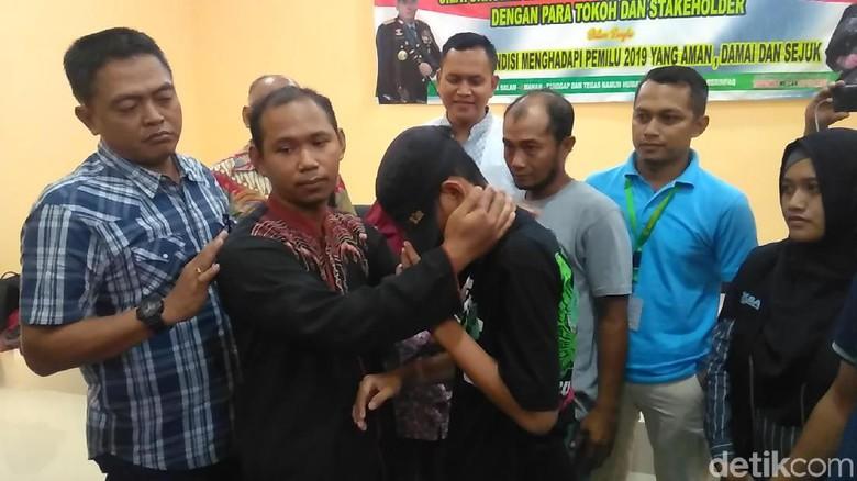 Mengharukan, Guru yang Ditantang Ikhlas Maafkan Siswanya