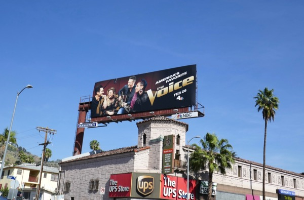 Voice season 14 billboard