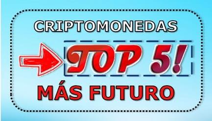criptomonedas que subirán y comprar top 5