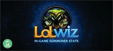 LoL Wiz - Estatísticas dos jogadores durante a partida!