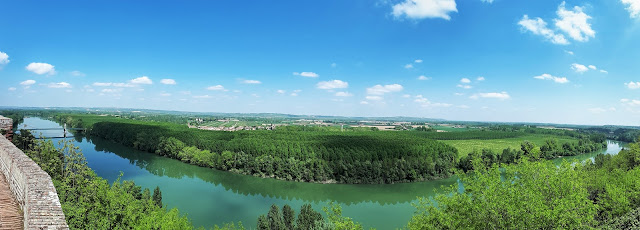 View from Auvillar