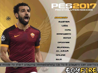 PES 6 EgyFire Patch Season 2016/2017