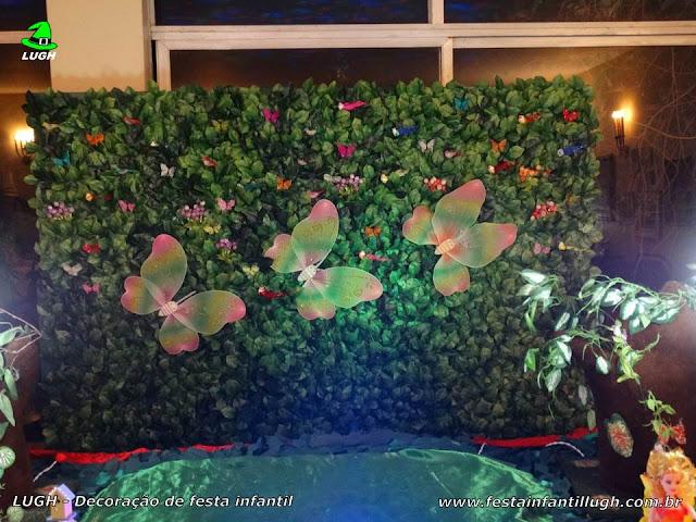 decoracao muros jardim:Decoração Jardim Encantado, mesa temática infantil – Festa Infantil