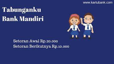 Tabungan anak di bank mandiri
