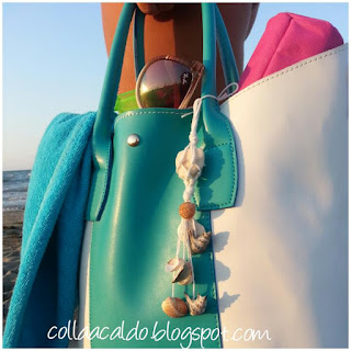 Tutorial beach bag charm colla a caldo