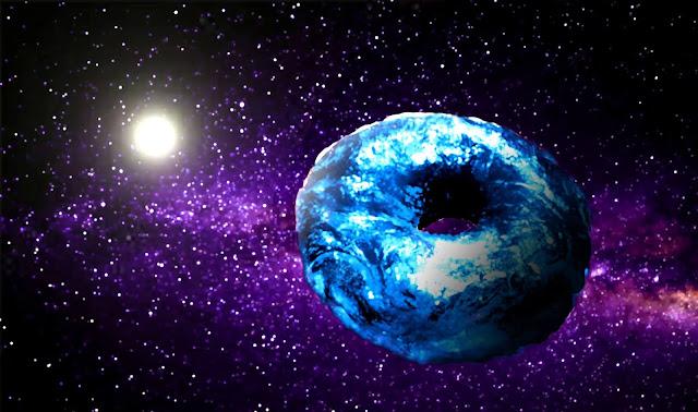 "alt=""el planeta rosquilla, the hellstown post, d d puche, fantasia, ciencia ficcion, exito, felicidad, dinero, amor, terraplanismo"""
